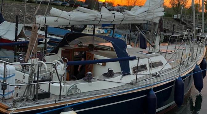 Segelschiff der Stiftung Drachensee